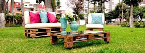 Palets&Deco: Jardín de estilo  por Palets&Deco