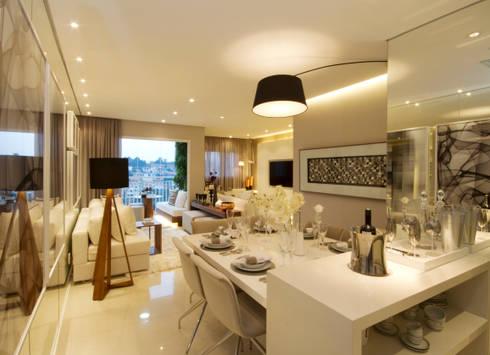 MAC_Otacílio: Salas de jantar clássicas por Chris Silveira & Arquitetos Associados
