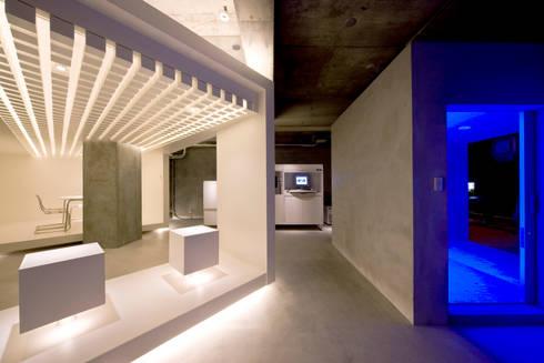 NTT- D.E.S RP OSAKA Technical Center : TotalDesignWorks ROOTが手掛けたオフィススペース&店です。