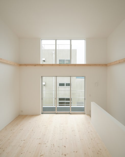 客廳 by 井戸健治建築研究所 / Ido, Kenji Architectural Studio