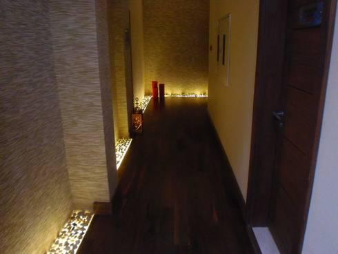 Tala Bay Spa by Elektra Lighting Design homify
