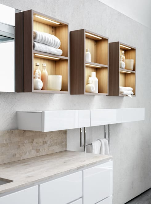 minimalistic Bathroom تنفيذ Vegni Design