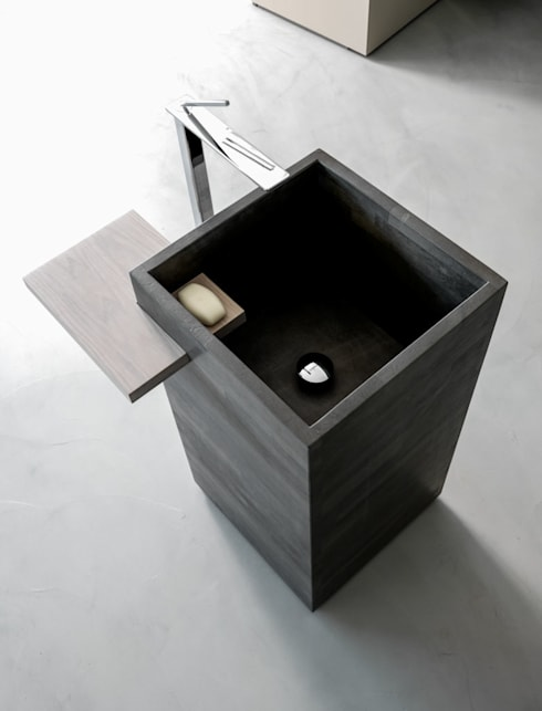 Free Design per Karol: Bagno in stile  di Vegni Design