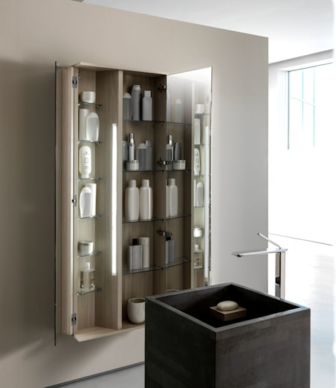 Baños de estilo minimalista de Vegni Design