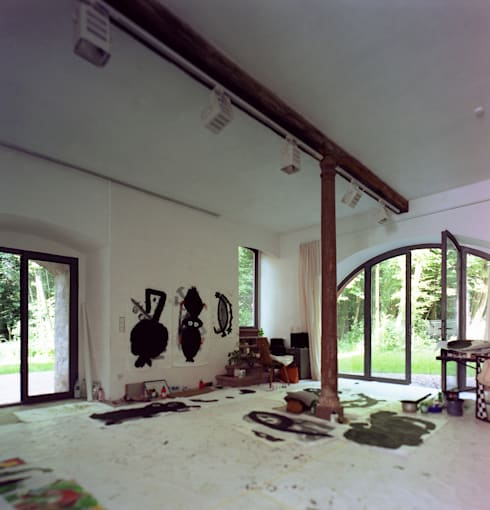 Atelier: ausgefallene Arbeitszimmer von SNAP Stoeppler Nachtwey Architekten BDA Stadtplaner PartGmbB