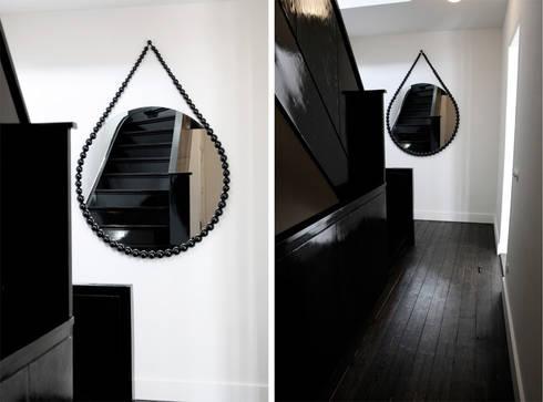 Bead Mirror (project):  Gang en hal door Vroonland