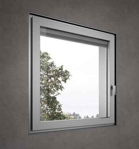 Puertas y ventanas de estilo minimalista por Giuseppe Bavuso