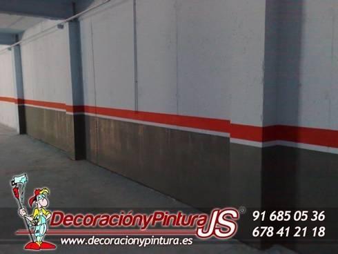 Decoración y Pintura JS: Garajes de estilo moderno de Decoración y Pintura Profesional JS