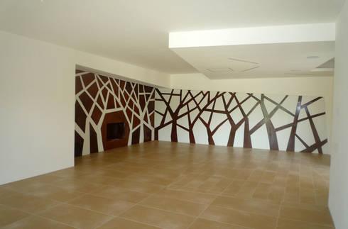 Casa Marano : Arte in stile  di raffaele iandolo architetto