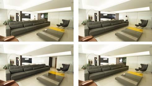 AP MC: Salas de estar modernas por Mutabile
