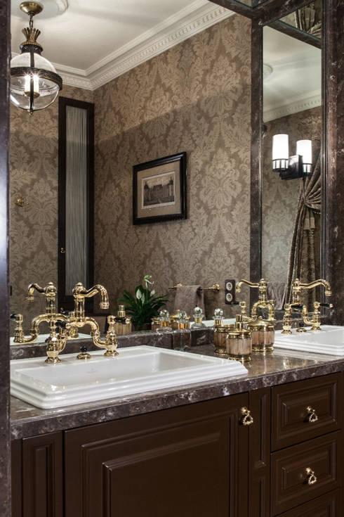 Вне времени: Ванные комнаты в . Автор – VVDesign
