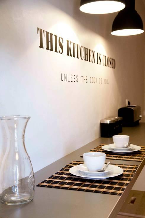 Cuisine de style de style eclectique par Home Staging Factory