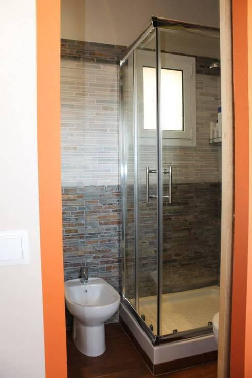 il bagno dopo:  in stile  di UAU un'architettura unica