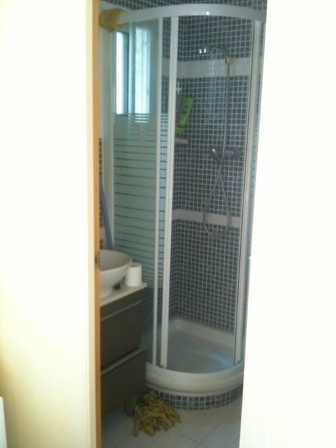 il bagno prima:  in stile  di UAU un'architettura unica