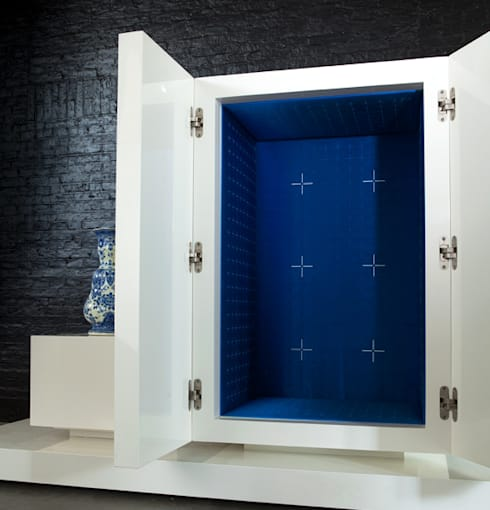 aBt!004: eclectische Woonkamer door iconic indoors