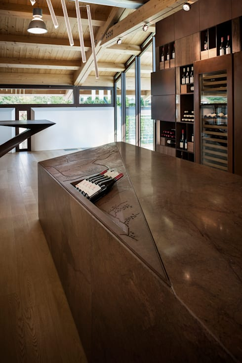 Wine Tasting Room:  Gastronomy by Alessandro Isola Ltd