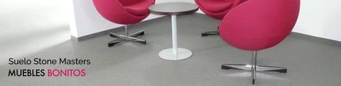 Suelo Stone Masters interior: Paisajismo de interiores de estilo  de Muebles Bonitos SL