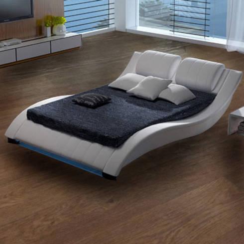 Camas de dise o y linea elegante a buen precio de muebles for Muebles bonitos sl