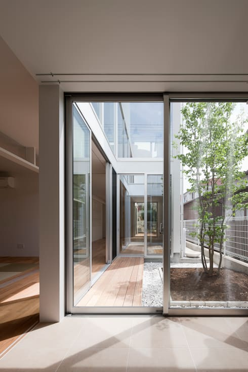 ODAWARA COURTYARD HOUSE: AIDAHO Inc.が手掛けた庭です。
