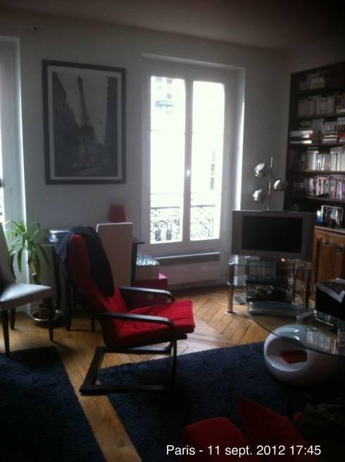 Tra design ed antiquariato d co di un appartamento sul for Interni case parigine