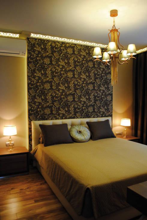 Спальня: Спальная комната  в . Автор – KrasnovaDesign