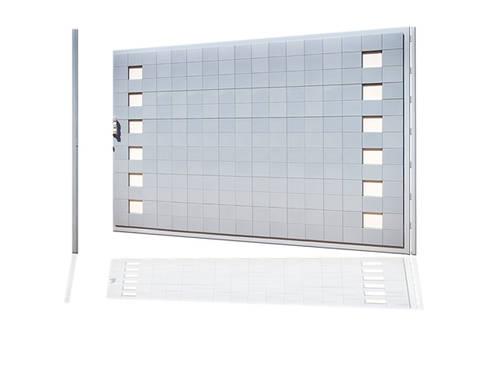 Puerta de garaje Batiente Pixéling®: Puertas y ventanas de estilo moderno de Puerta Bonita