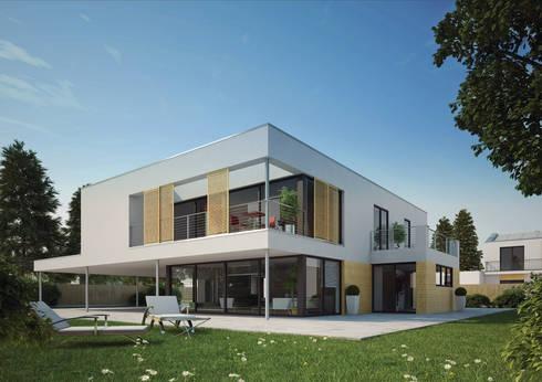 haus dessau deutscher traumhauspreis 2014 por streif haus gmbh homify. Black Bedroom Furniture Sets. Home Design Ideas