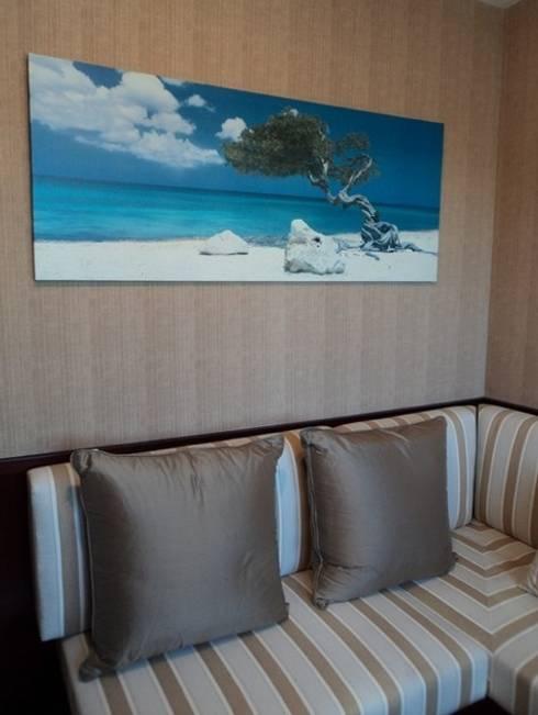 Dormitorio Feng Shui: Dormitorios de estilo mediterráneo de Feng Shui Cristina Jové