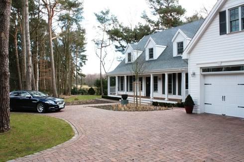 บ้านและที่อยู่อาศัย by THE WHITE HOUSE american dream homes gmbh