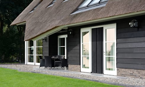 Landelijk wonen in Soest 005: landelijke Huizen door Building Design Architectuur