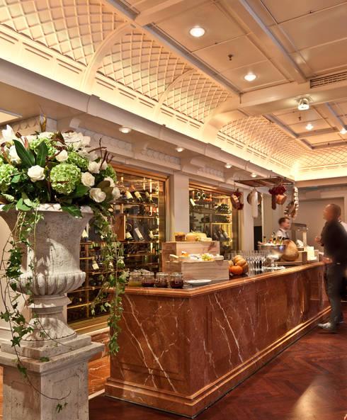 ....erst das richtige Licht inszeniert eine gute Gestaltung:  Gastronomie von Dreiklang® Hotelkonzepte mit Charakter