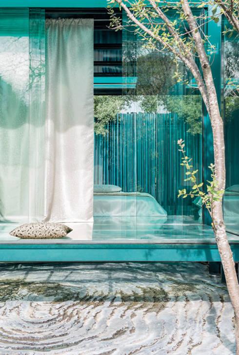 Finestre & Porte in stile in stile Mediterraneo di Indes Fuggerhaus Textil GmbH
