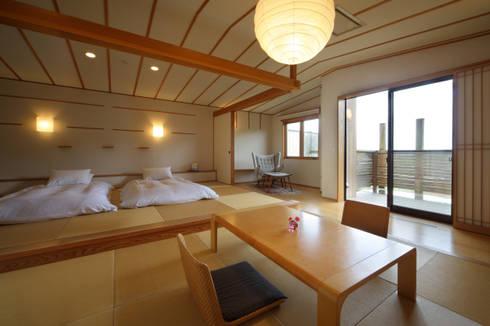 Hotel in stile  di TAKA建築設計室