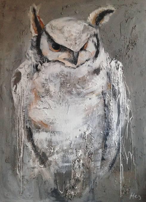Direkteur  150x200cm:  Kunst  door Kathalijne Hes