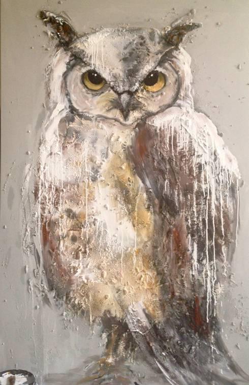 Direkteur 140x190cm:  Kunst  door Kathalijne Hes