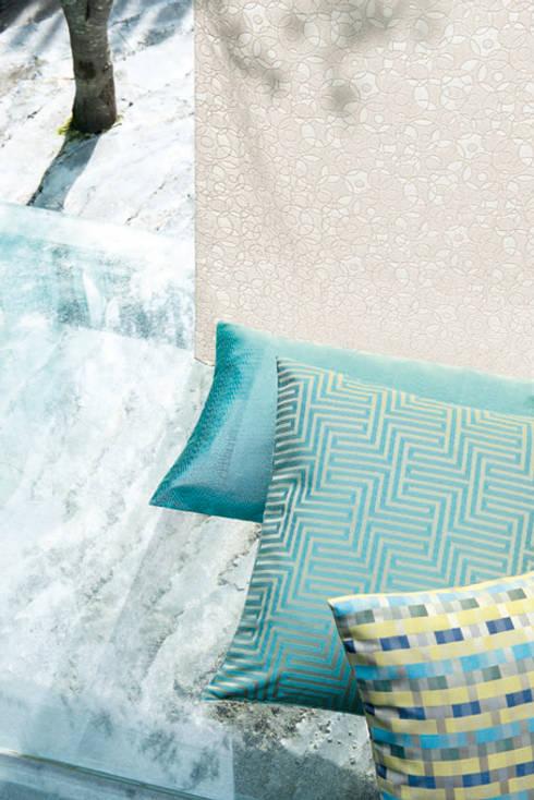 Camera da letto in stile in stile Mediterraneo di Indes Fuggerhaus Textil GmbH