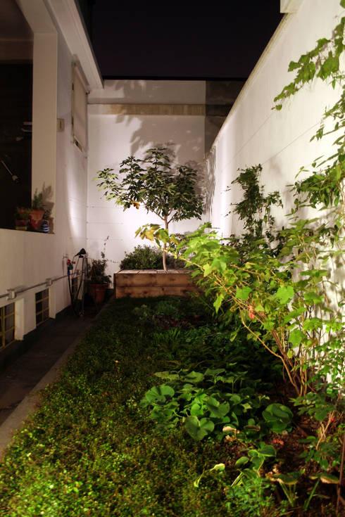 Loft ecologico a San Salvario, Torino: Giardino in stile  di TRA - architettura condivisa
