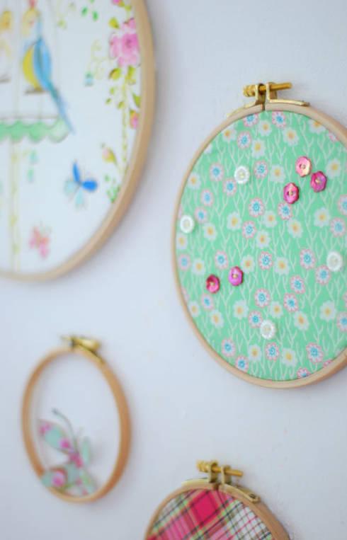 stickrahmen mit lieblingsstoff:  Wohnzimmer von wunderschoen-gemacht