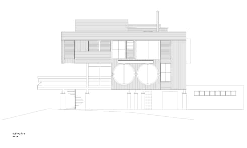 Sertão da Barra do Una | casa:   por ARQdonini Arquitetos Associados