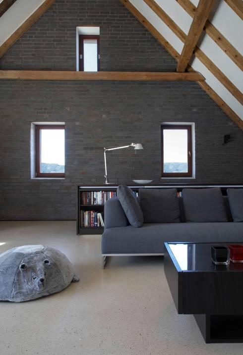 Wohnbereich:  Wohnzimmer von Dipl.-Ing. Michael Schöllhammer, freier Architekt