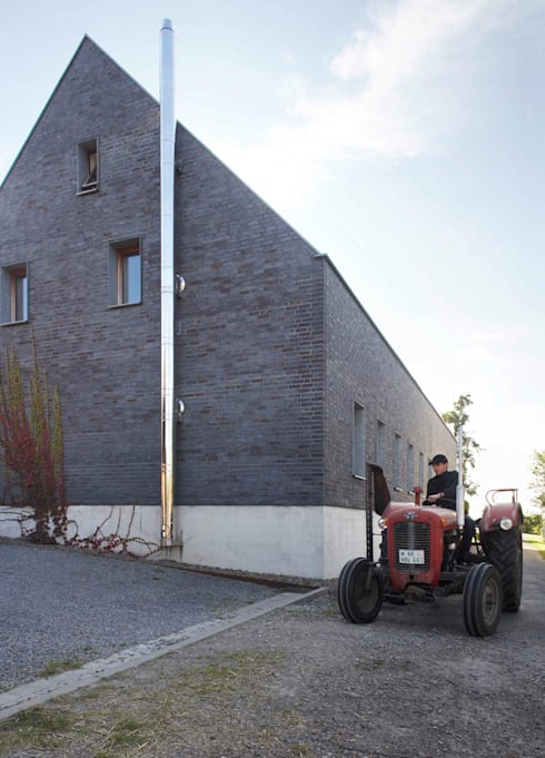 gen Nord-Westen:  Häuser von Dipl.-Ing. Michael Schöllhammer, freier Architekt