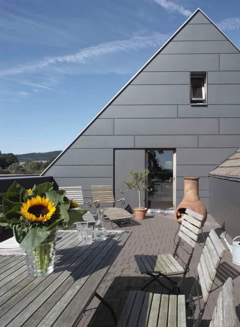 Terrazas de estilo  por Dipl.-Ing. Michael Schöllhammer, freier Architekt