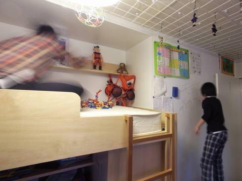 ダブルリビングのある家 すくすくリノベーション vol.1: 株式会社エキップが手掛けた子供部屋です。