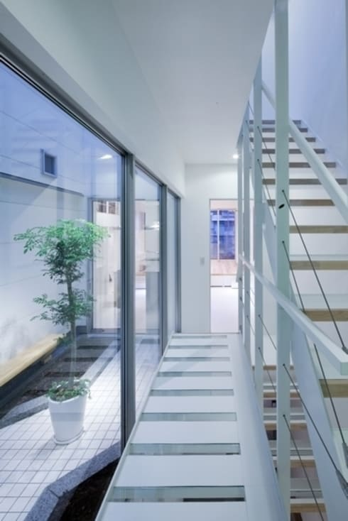 Y-house: 有限会社アルキプラス建築事務所が手掛けた庭です。
