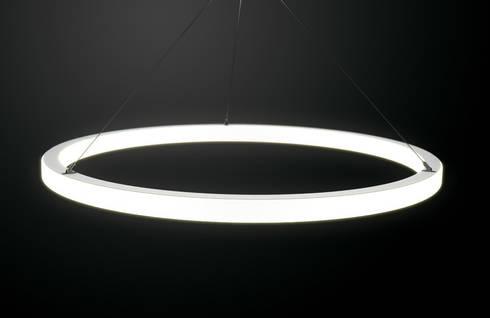 per app steuerbare led ringleuchte von leuchtstoff. Black Bedroom Furniture Sets. Home Design Ideas