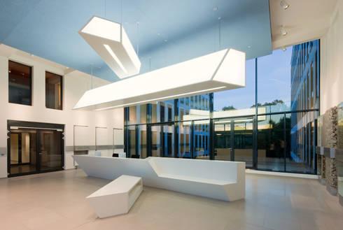 hauptverwaltung der xella international gmbh by two space homify. Black Bedroom Furniture Sets. Home Design Ideas