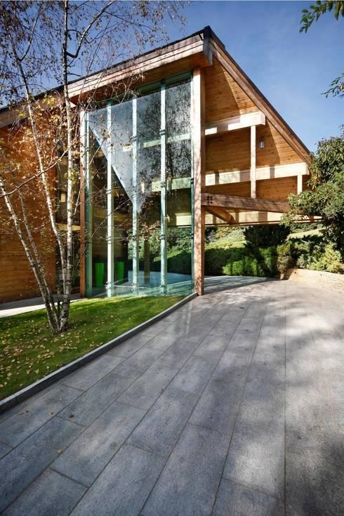 Projekty, nowoczesne Domy zaprojektowane przez alberico & giachetti architetti associati