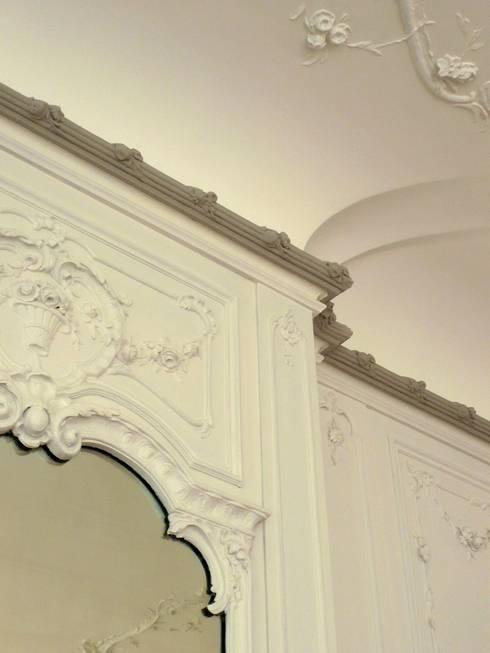 erfolgreiche restaurierung klassische wohnzimmer von atelier von wecus - Sky Wohnzimmer Umbau