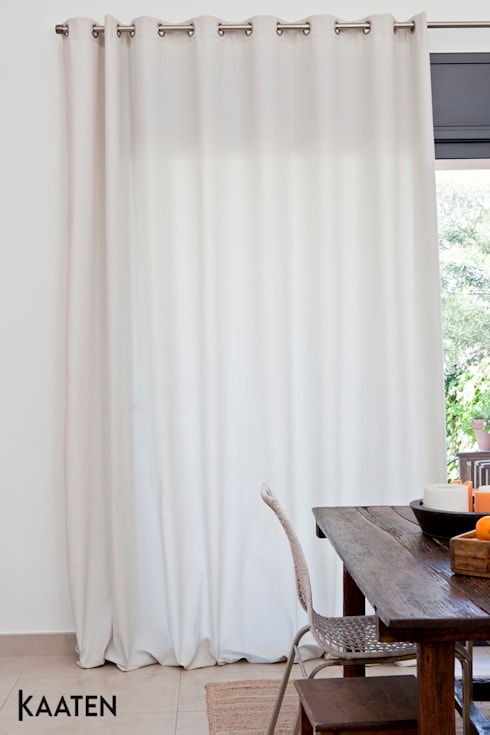 Cortinas tradicionales - Kaaten: Comedores de estilo moderno de Kaaten