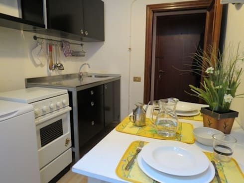 Intervento in bilocale nel centro storico di firenze - Centro cucina firenze ...